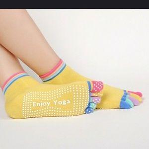 Accessories - Yoga toe socks nonslip